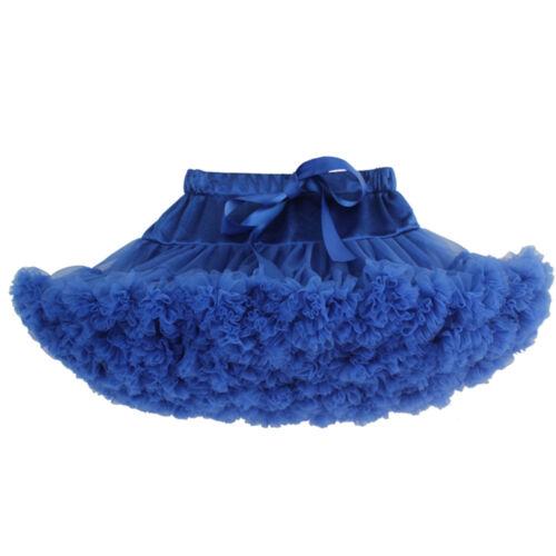 Kinder-Unterrock kurz Tutu Reifrock Petticoat Rockability Ballettrock Tüllrock