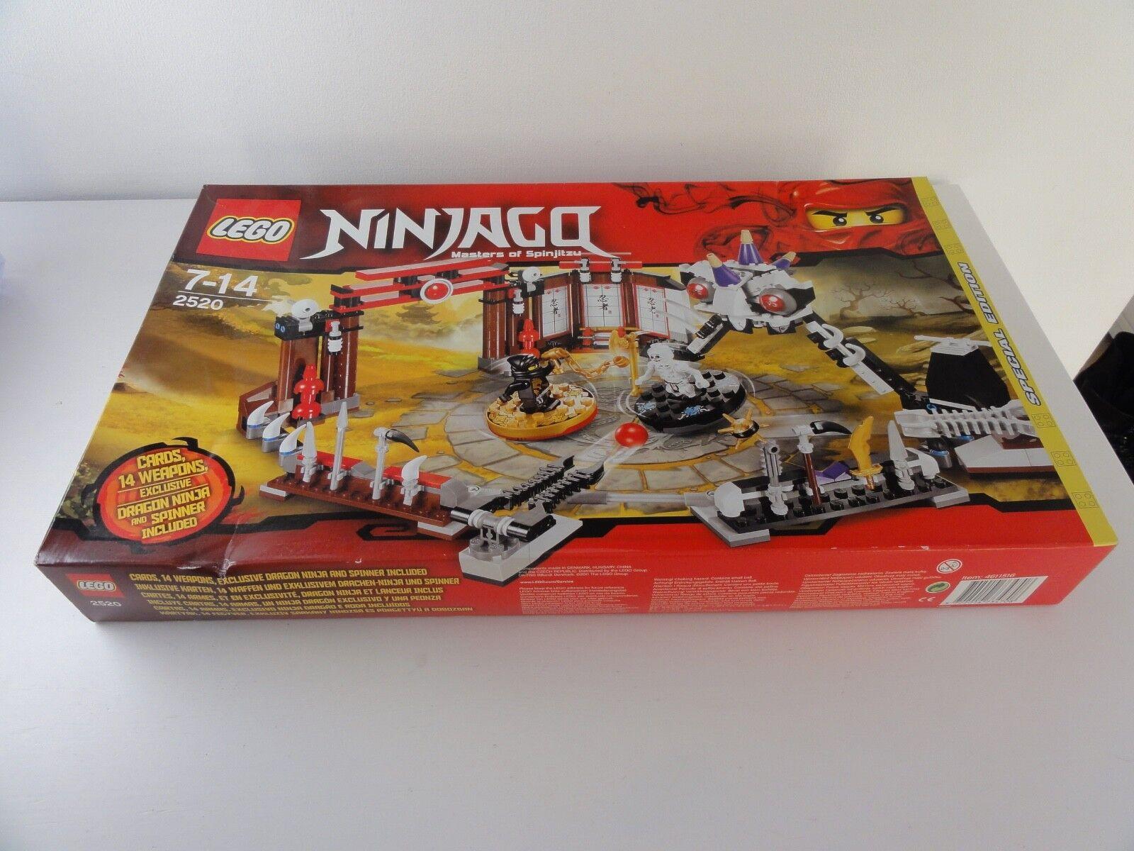 Lego 2520 setnr. ninjago ovp new/neu masters of spinjitzu