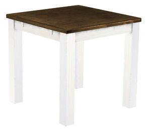Das Bild Wird Geladen Esstisch Weiss Eiche Antik Holz Pinie Massiv Tisch