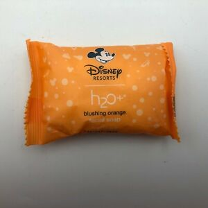 NOS Disney Resorts Blushing Orange Facial Soap 1.5 oz. Bar New Mickey Mouse H4