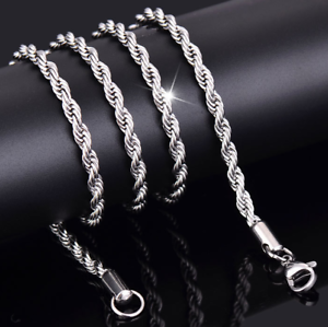 2-4mm-Fashion-925-Silver-Solid-Twist-Rope-Chain-Necklace-Wedding-Jewerly-16-30-034