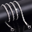 2-4mm-Fashion-925-Silver-Solid-Twist-Rope-Chain-Necklace-Wedding-Jewerly-16-30-034 thumbnail 1