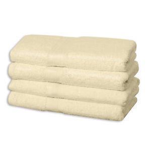 Frottee-Handtuecher-Farbe-Beige-Badetuch-Duschtuecher-550g-pro-m2-Handtuch