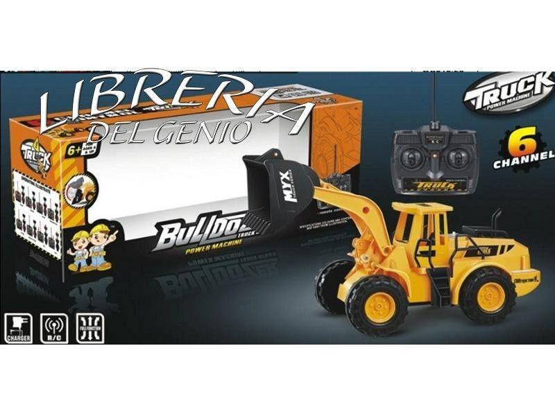 Scavatore Ruspa Radiocomandato Bagger escavatore escavatore escavatore r c telecomandato 3 CH Natale c1195f
