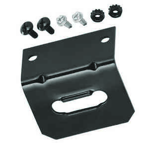 4 FLAT MOUNTING BRACKET FOR TRAILER HITCH WIRING 4 WAY FLAT CONNECTOR  118144 | eBay