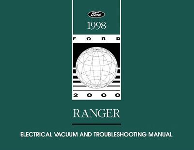 1998 Ford Ranger Truck Wiring Diagrams Schematics Drawings ...