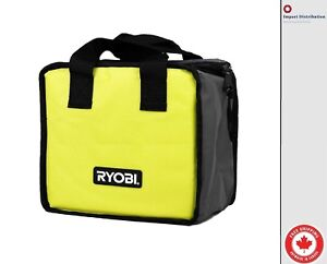 New Ryobi Lime Green Genuine OEM Tool Tote Bag (Single Bag) 10 x 10 x 6 inches