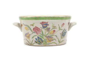 Beautiful-Chinese-Porcelain-Oval-Flower-Pot-Floral-Pattern