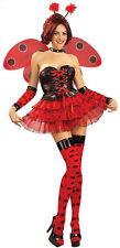 Luscious Lady Bug Women's Halloween Sexy LadyBug sz S 2-6 New Red Costume
