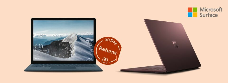 Shop Now - Save up to 40% on Microsoft Surface Laptops