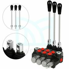 Hydraulic Control Valve 3 Spool 11gpm Double Actingtractor Loader With Joystick