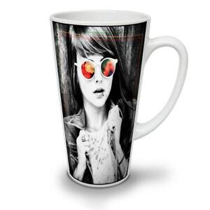 Girl Portrait NEW White Tea Coffee Latte Mug 12 17 oz   Wellcoda