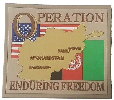 AFGHANISTAN OEF OPERATION ENDURING FREEDOM SKULL MILITARY  FRIDGE MAGNET