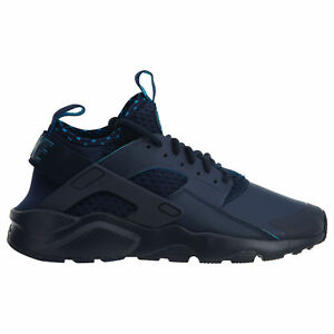 AUTHENTIC Nike Air Huarache Run Ultra SE Obsidian Lite Blue 875841 400 Men sz