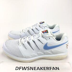 14dcc5fef72 Nike Air Zoom Vapor X HC Tennis Shoes Wimbledon Federer Edition RARE ...