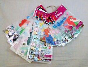 Disney-Princess-Scrapbook-Stickers-Belle-Cinderella-Mulan-Pocoahontas-Snow-White