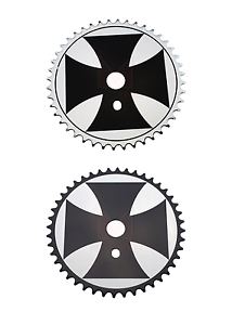Bicycle-Chainring-Sprocket-Iron-Cross-44t-Lowrider-Cruiser-Chopper-MTB-BMX-Bike