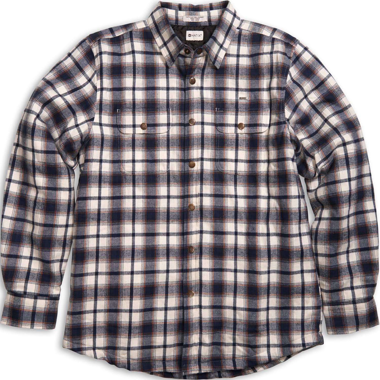 Matix Thatcher Camicia di Flanella (L) Naturale