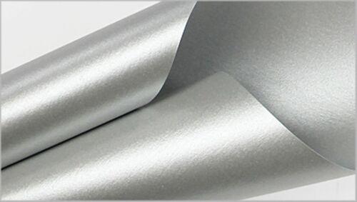 """24 Premium Argent Métallisé ~ Papier Tissu Papier Cadeau ~ Do it yourself ~ pompons ~ 24 Feuilles 20/""""x30/"""""""