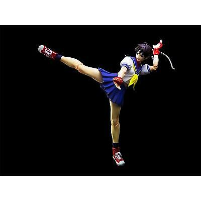 Japan Figure Bandai S. H. Figuarts Street Fighter Sakura Kasugano from Japan