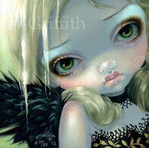 Faces-of-Faery-214-Jasmine-Becket-Griffith-art-CANVAS-PRINT-goth-angel-fairy-art