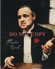 MARLON BRANDO 'THE GODFATHER' Autographed 8x10 Signed Photo Reprint