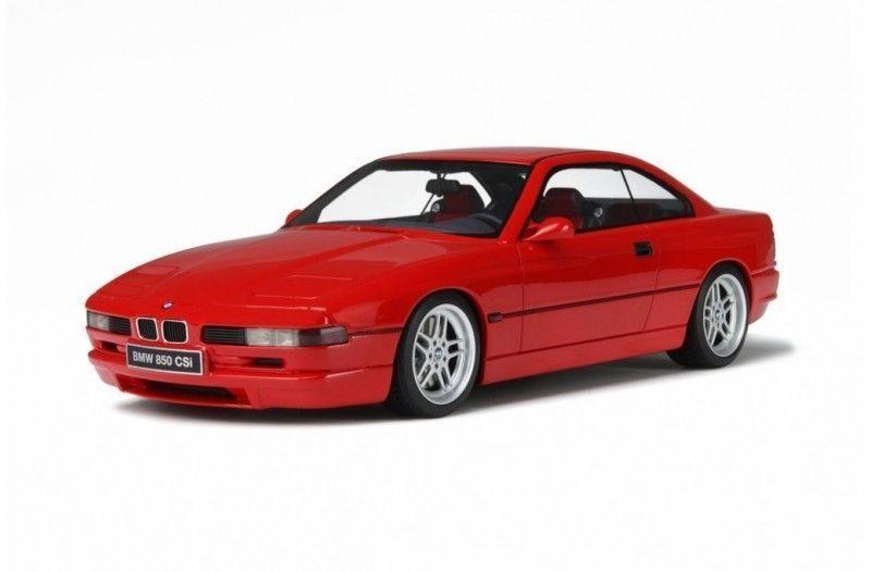 economico e di alta qualità OTTO MOBILE 1989 BMW 850 CSI rosso Coloreeee LE 3000pcs 3000pcs 3000pcs Last One   tutti i beni sono speciali