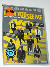 DVD Die Unfassbaren MORGAN FREEMAN Now You See Me CAINE franco FISHER laurent