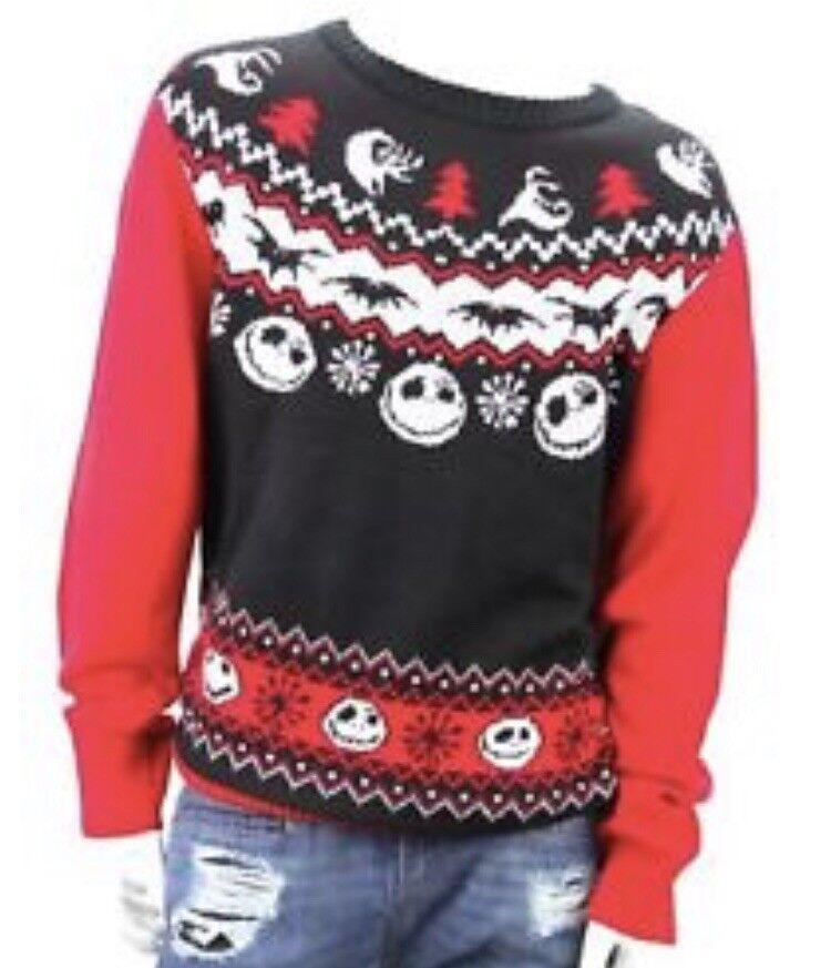 Nightmare Before Christmas  Herren Sweater XXL