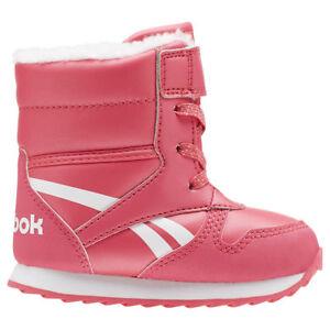 nouveau produit 9196a 2ccc4 Détails sur Reebok Fille Chaussures Bébé Classique Neige Jogger CN4631  Bottes Hiver