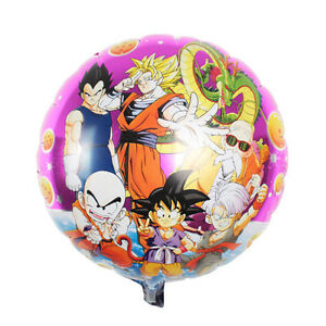 18 Cartoon Dragon Ball Helium Air Foil Balloon Decor Birthday Party