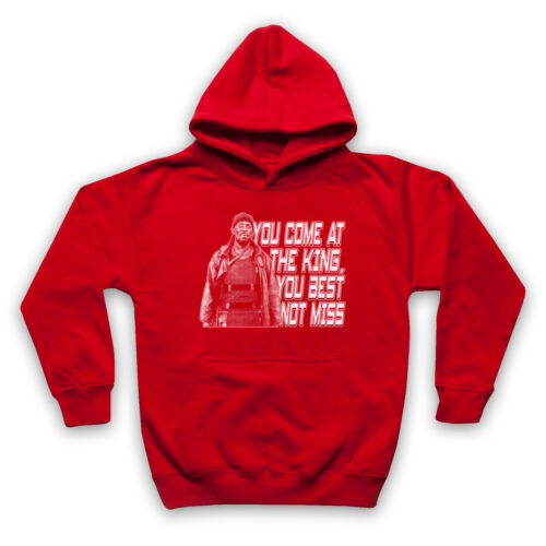 THE WIRE OMAR YOU COME AT THE KING YOU BEST NOT MISS ADULTS /& KIDS HOODIE