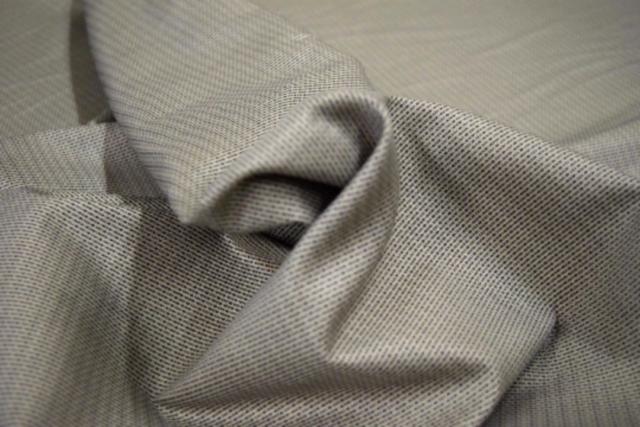 Granite Tessitura Monti Spa Fine Italian 100 Cotton Shirting Fabric 60