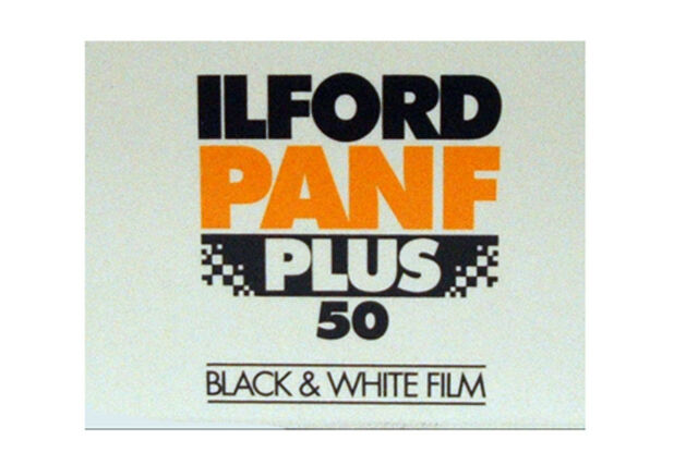 Ilford PANF Plus 50 Black & White Film 35mm Film
