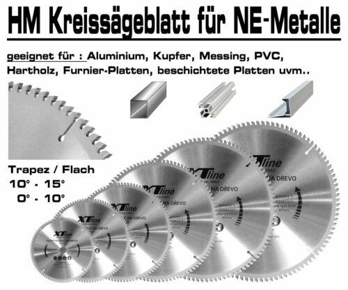 ALU Hartmetall Kreissägeblatt 400 mm x 30 x 100-Z Negativ Aluminium NE-Metall XT