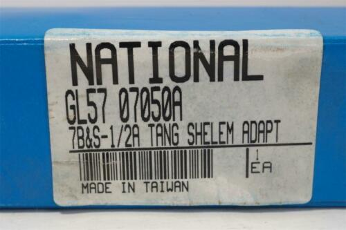"""7 Brown /& Sharpe Taper 1//2/"""" Tanged Shell Mill Adapter Holder New National No"""