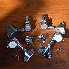 MECANIQUES BASSE GOTOH GB7 BASS Set 2Right+2Left Tuners (Symetrique) CHROME