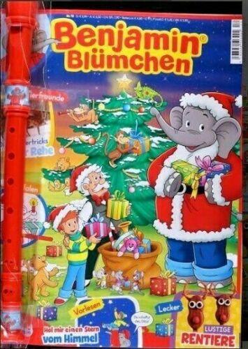 BENJAMIN BLÜMCHEN Magazin Ausgabe 12//2020 Poster Rätsel /& Extra Flöte