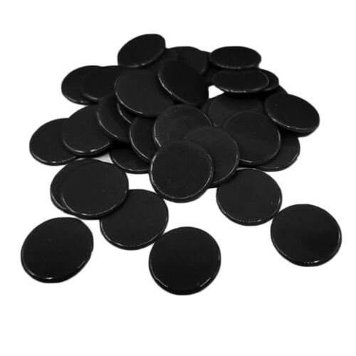 100pcs Poker Chips Game Currency Coins Casino Supply Hilarious Accs Black