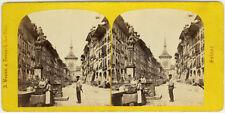 Photo Stéréo A. Braun Albuminé Suisse Berne Vers 1880/90