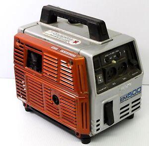HONDA EM500 / EX500 GENERATOR SERVICE AND USER MANUALS ON CD + DOWNLOAD