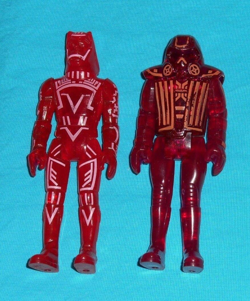 Vintage Tomy Tron WARRIOR & SARK lot action figures