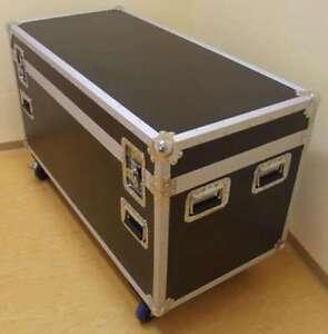Tourcase ODV-1 125 x 60 x 77 cm Montage Case Transportcase Hardwarecase Rollen
