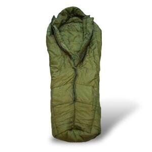 GENUINE USED GRADE 1 Arctic BRITISH ARMY COLD WEATHER SLEEPING BAG CAMPING Fish
