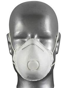 Atem-, Augen- & Gehörschutz Initiative Feinstaubmaske Ventil Staubmasken Ffp1 Atemschutzmaske Staubmaske Arbeitsschutz Hohe QualitäT Und Geringer Aufwand