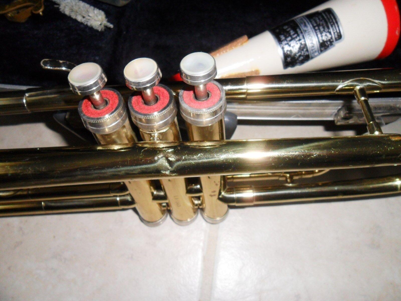 Trompeta Conn Director ( L87163) y Estuche Boquilla Vincent Bach Bach Bach 7C 720198