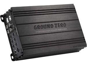 ground zero gzha mini four 4 kanal 640 wrms verst rker. Black Bedroom Furniture Sets. Home Design Ideas