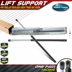 2x Rear Tailgate Lift Supports for Suburban Tahoe Yukon Escalade 1995-2004 4557