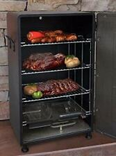BBQ Grill Electric Smoker Barbecue Portable Meat Food Cooker Rack Outdoor 26""