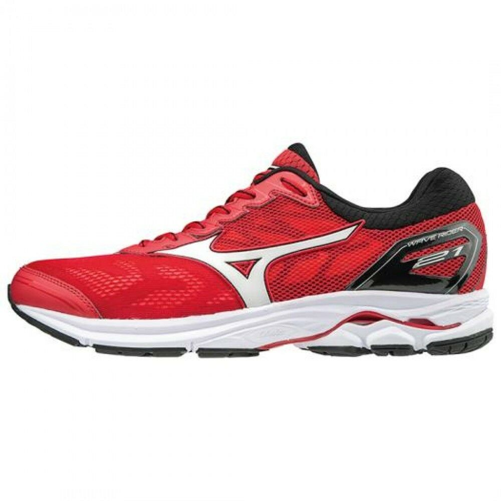 Mizuno Running shoes WAVE RIDER 21 J1GC1803 Red × White × Black F/S